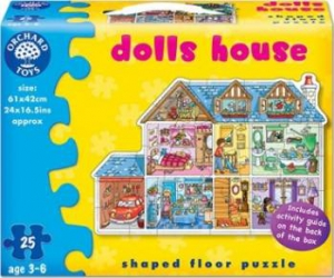 Puzzle Orchard Toys Dolls House - 25 Pieces Puzzle si Lego