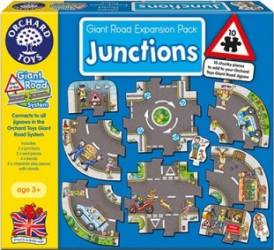 Puzzle Orchard Toys Giant Road Expansion Pack Junction Puzzle si Lego