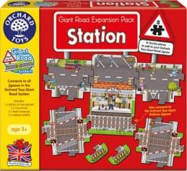 Puzzle Orchard Toys Giant Road Expansion Pack Station Puzzle si Lego