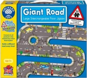 Puzzle Orchard Toys Giant Road Jigsaw Puzzle si Lego