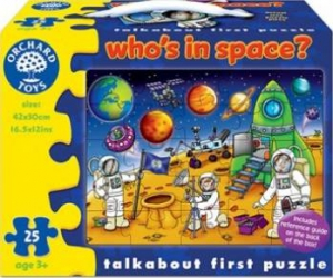 Puzzle Orchard Toys Whos In Space Puzzle si Lego