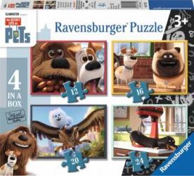 PUZZLE PETS - SINGURI ACASA 12162024 PIESE Ravensburger Puzzle