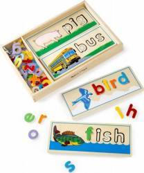 Puzzle Primele cuvinte Puzzle si Lego