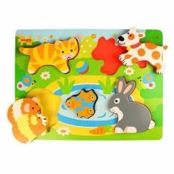 Puzzle - Animale de companie Jucarii si Jocuri