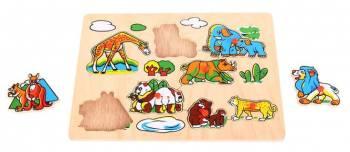 Puzzle - Animale din salbaticie Jucarii si Jocuri