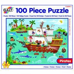 Puzzle - Calatoria piratilor 100 piese Jucarii si Jocuri