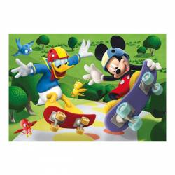 Puzzle - Mickey Mouse 24 piese Jucarii si Jocuri