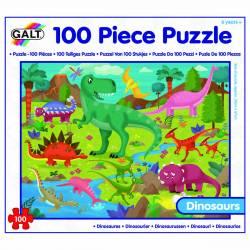 Puzzle - Taramul Dinozaurilor 100 piese Jucarii si Jocuri
