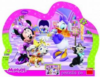 Puzzle cu rama - Minnie si Daisy 25 piese Jucarii si Jocuri