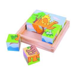 Puzzle cubic - dinozauri Jucarii si Jocuri