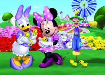 Puzzle de podea - Minnie si Daisy 24 piese Jucarii si Jocuri