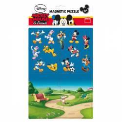 Puzzle magnetic - Mickey si prietenii 16 piese Jucarii si Jocuri