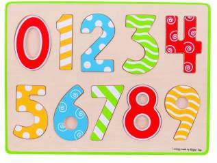 Puzzle mare 123 Jucarii si Jocuri