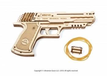 Puzzle Mecanic Pistol Wolf Cadouri