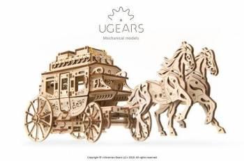 Puzzle Mecanic Trasura cu cai Cadouri