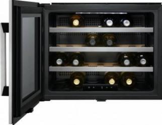 Racitor de vinuri Electrolux ERW0670A 54L 24 Sticle Inox Frigidere Combine Frigorifice