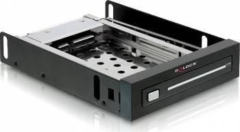 Rack Delock 3.5 inch pentru HDD 2.5 SATA Negru Rack uri