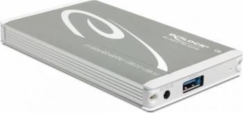 Rack Extern Delock 42514 HDD 2.5 - Multiport USB 3.0 + eSATAp Rack uri