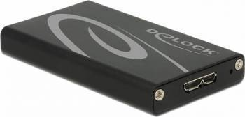 Rack Extern Delock mSATA SSD - USB 3.0 Rack uri