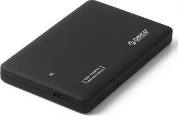 Rack extern Orico 2599US3 2.5 inch SATA USB 3.0 Negru Rack uri