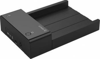 Rack extern Orico 6518C3 3.5 inch USB Type-C Negru Rack uri