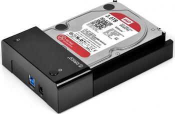 Rack extern Orico 6518US3 3.5 si 2.5 inch SATA USB 3.0 Black