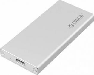 Rack extern Orico MSA-UC3 mSATA USB 3.1 Argintiu Rack uri