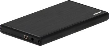 Rack extern Spacer SPR-25621 2.5inch USB 2.0 Negru