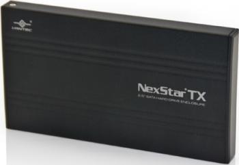 Rack extern Vantec NST-210U2-BK 2.5