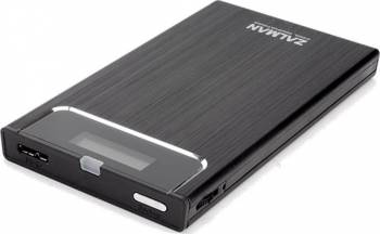 Rack extern Zalman ZM-VE350 USB 3.0 Negru Rack uri