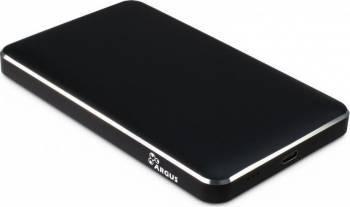 Rack HDD Inter-Tech GD-25609 2.5 inch USB Type C Black Rack uri