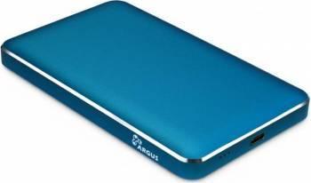 Rack HDD Inter-Tech GD-25609 2.5 inch USB Type C Blue Rack uri