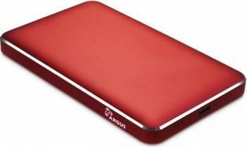 Rack HDD Inter-Tech GD-25609 2.5 inch USB Type C Red Rack uri