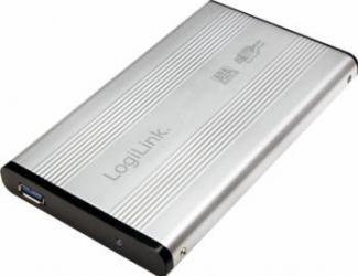 Rack Logilink UA0106A 2.5 SATA USB 3.0 Silver aluminiu