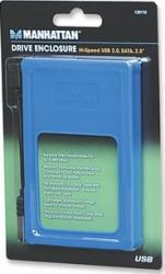 Rack Manhattan 2.5 SATA - USB 2.0 Albastru