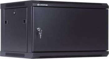 Rack Server Linkbasic 19 6U 600x450mm Negru Rack uri Server