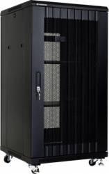 Rack Server Linkbasic 19 inch 22U 600x600mm Negru Rack uri Server