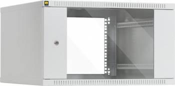 Rack Server Netrack 019-060-600-011 19 inch 6U/600 mm Gri Rack uri Server