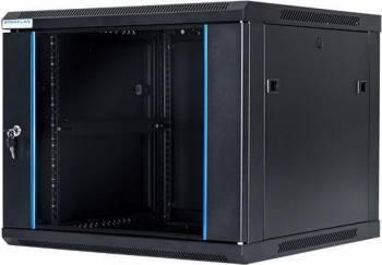 Rack Server START.LAN STLWMC-9U-66-GSB-C 19 inch 9U 600x600mm Negru Rack uri Server