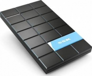Rack SKK SHE080 HDD 2.5 SATA USB3.0 Negru