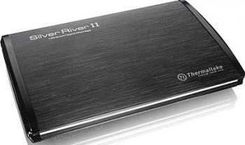 Rack Thermaltake Silver River II Black 2.5 inch eSATA-USB Rack uri