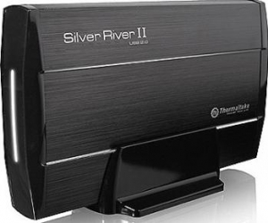 Rack Thermaltake Silver River II Black USB 2.0 3.5 inch