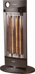 Radiator cu halogen Argo DRUM 1000W 40mc Maro Aparate de incalzire