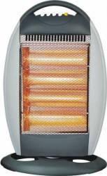 Radiator cu halogen Myria MY-HG160B, 3 trepte de caldura, 1600W Aparate de incalzire