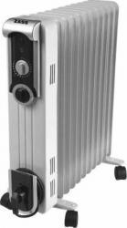 Radiator cu ulei ZASS ZR11SL 2500W 11 elementi 3 trepte Alb Aparate de incalzire