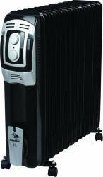 Radiator Electric Albatros RB-13T2, 13 elementi, 3000W, Black Aparate de incalzire