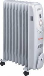 Radiator electric cu ulei Zass ZR 09 C 2000W Termostat reglabil Alb