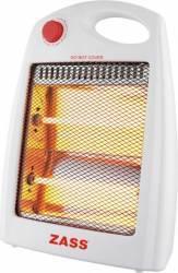 Radiator electric Zass ZQH 02 800W 2 elementi Oprire automata Alb Aparate de incalzire