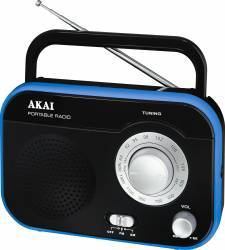 Radio Akai PR003A-410 Black Ceasuri si Radio cu ceas