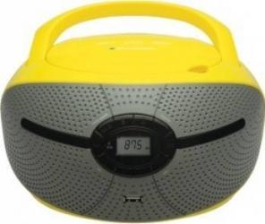 Microsistem Audio Blaupunkt Boombox BB6YL Player USB AUX 2x1.2W galben Sisteme Audio